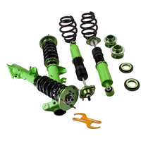 Coilover Kits For BMW E36 3 Series 316 318 323 325 328 M3 Adjustable Height Control arms Suspension Coilovers Damper Force COil