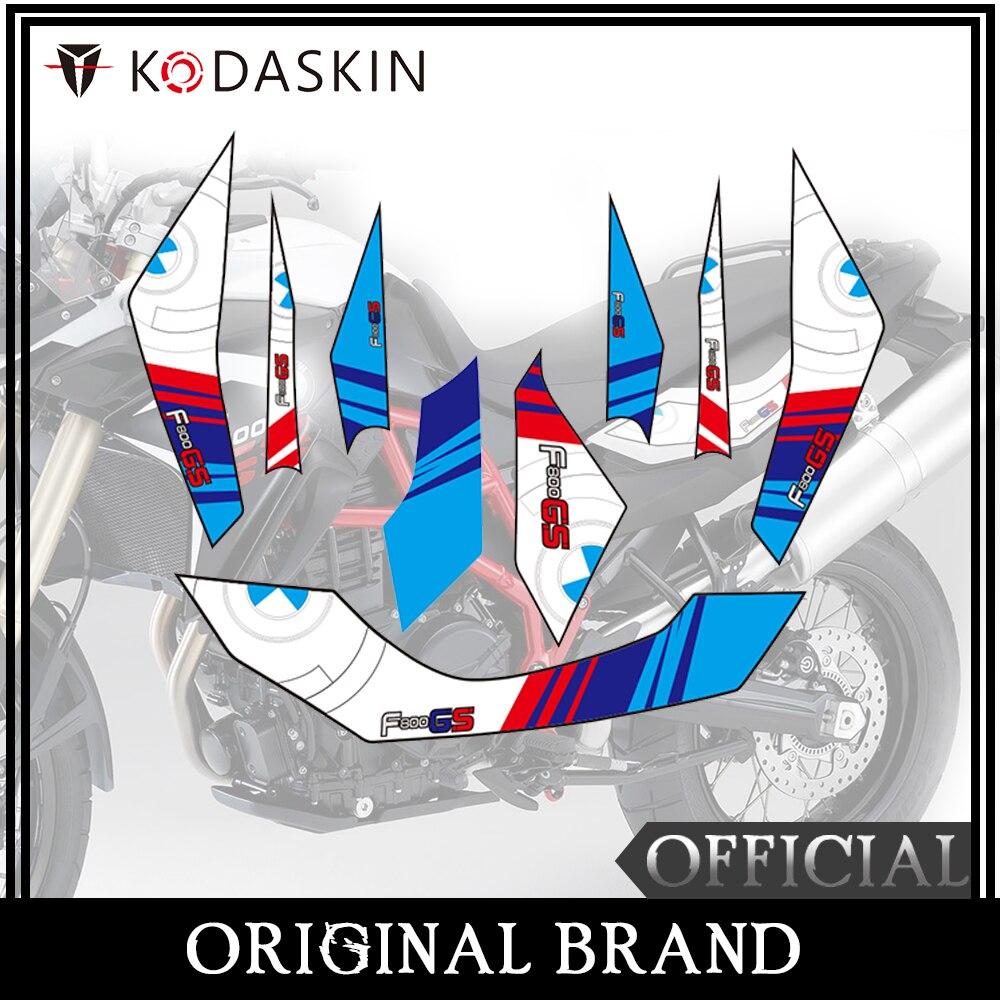 KODASKIN Motorcycle 2D Fairing Emblem Sticker Decal For BMW F800GS 2013-2017