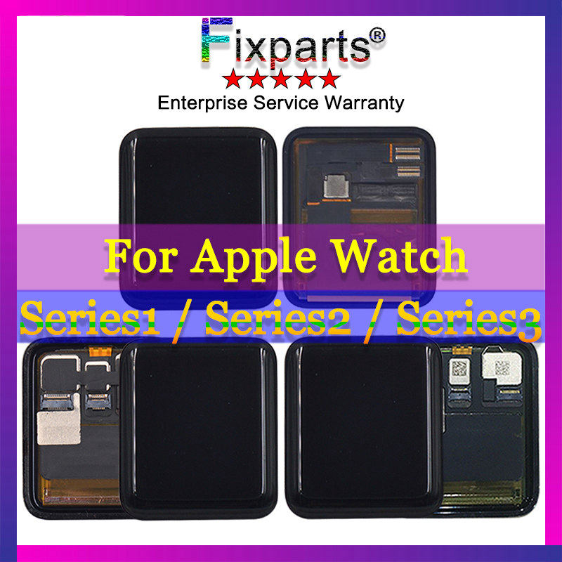 Sport/Sapphire For Apple Watch 1 LCD Display Touch Screen Assembly For Apple Watch Series 3 LCD Series 2 Pantalla ReplacementSport/Sapphire For Apple Watch 1 LCD Display Touch Screen Assembly For Apple Watch Series 3 LCD Series 2 Pantalla Replacement