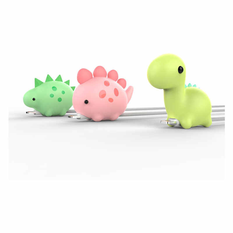 12 Animals Cable bite USB Cable Protector for iphone Mirco Type C Desk Winder Wire organizer 2018 Newest Dropshopping Funny Toys