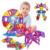 Diseñador Mini Bloques de Construcción magnética 88 unids Juguete Juguetes Educativos para Niños Juguetes de Construcción De Plástico Ladrillos Creativa