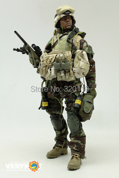 American Sniper Toys : Veryhot american special troops sniper jungle inch