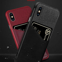PU Leather Wallet Phone Cases for iPhone 10 8 7 6 6s Plus XS MAX XR X Credit Card Money Slot Holder Cover For 7Plus