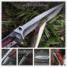 Ножи 5Cr15MoV нож со складным лезвием Cs Go деревянной ручкой ножи высокого качества ЦАВС Тактический Ножи для охоты и выживания кемпинг инструмент