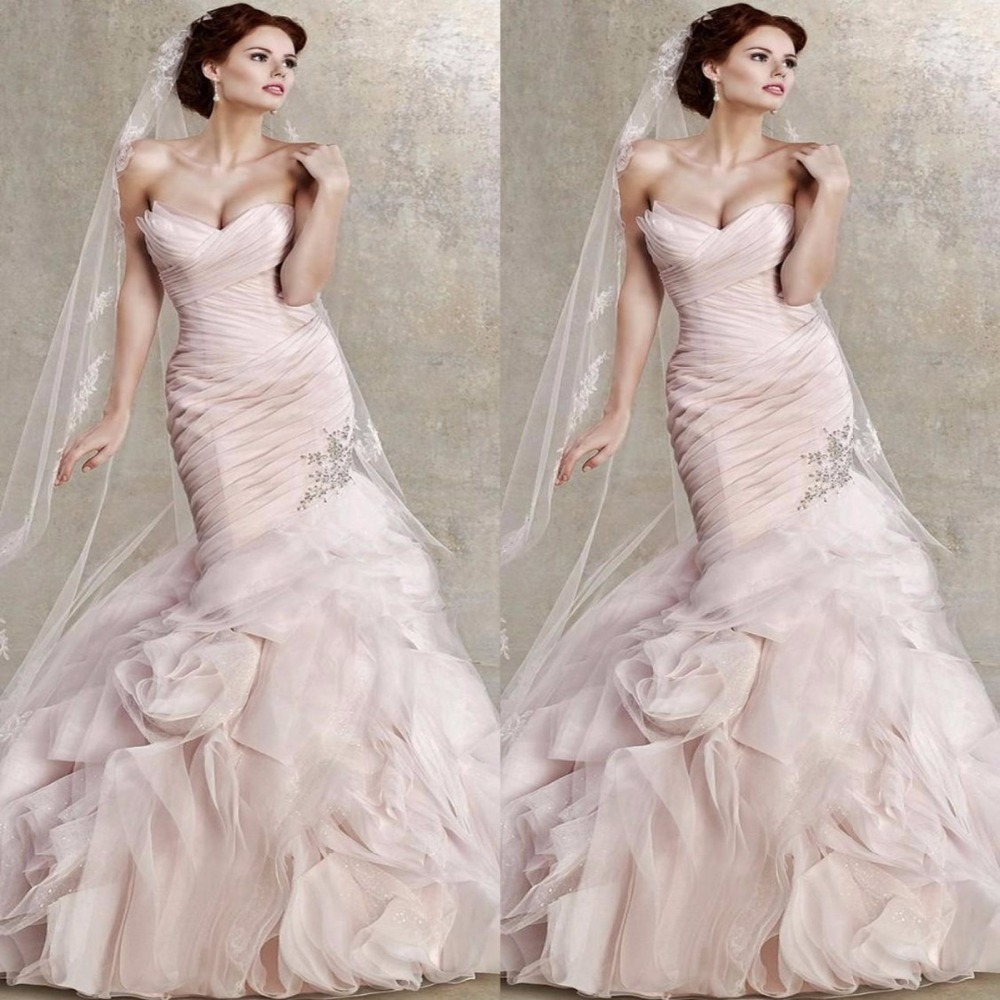 Pink Color Wedding Gown: 2017 Couture Blush Pink Wedding DRess Fabulous Wedding