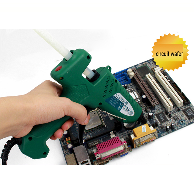 High Quality Brand Glue Gun Power 100w with 11mm Sticks Heat Pneumatictools African Swiss Voile Lace Glue Gun пустышки bebe confort силиконовая safe dummiies с кольцом 0 12 мес 2 шт