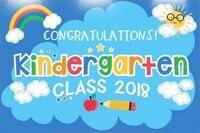 Graduation School class Rainbow Cloud Sun Blue photography backgrounds Computer print children kids photo backdrop
