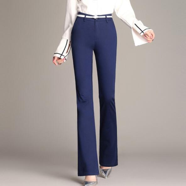 Las Flare De Pantalones Plus Señoras Tiempo Dv255 Mucho Tamaño Mujeres Durante q6xEa4gq