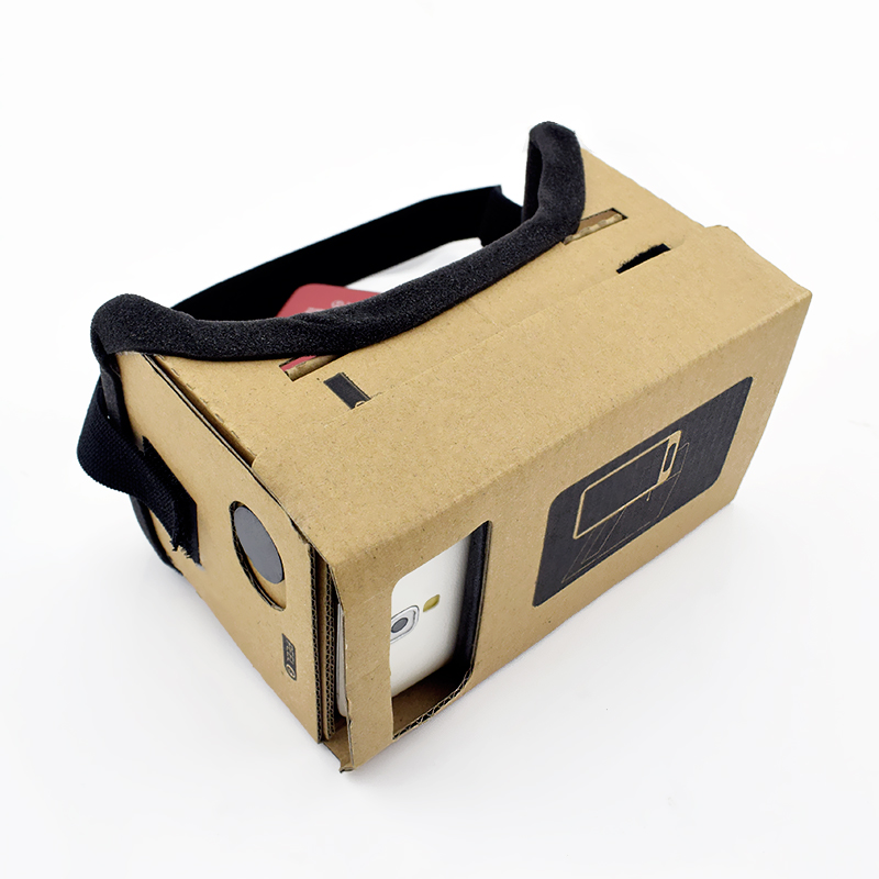 Virtual Reality Glasses Google Cardboard Glasses 3D Glasses VR Box Movies for iPhone 5 6 7 SmartPhones VR Headset 6
