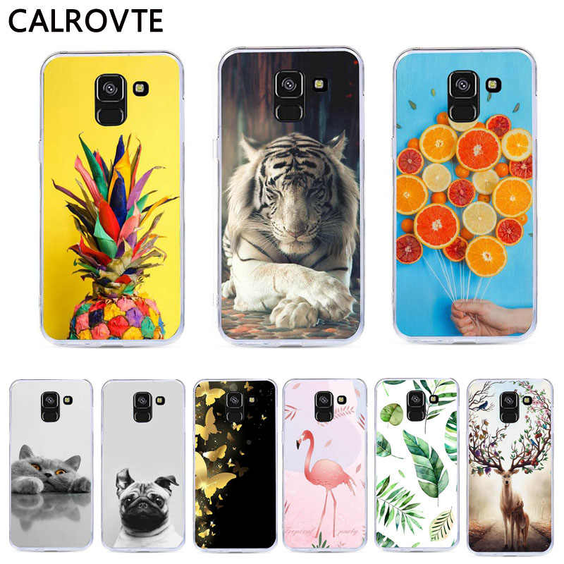 Silicone Soft TPU Phone Case For Samsung Galaxy A8 A6 Plus J4 J6 2018 S9 S8 Plus S7 Edge A5 A7 J3 J5 J7 2017 2016 Note 8 9 Case