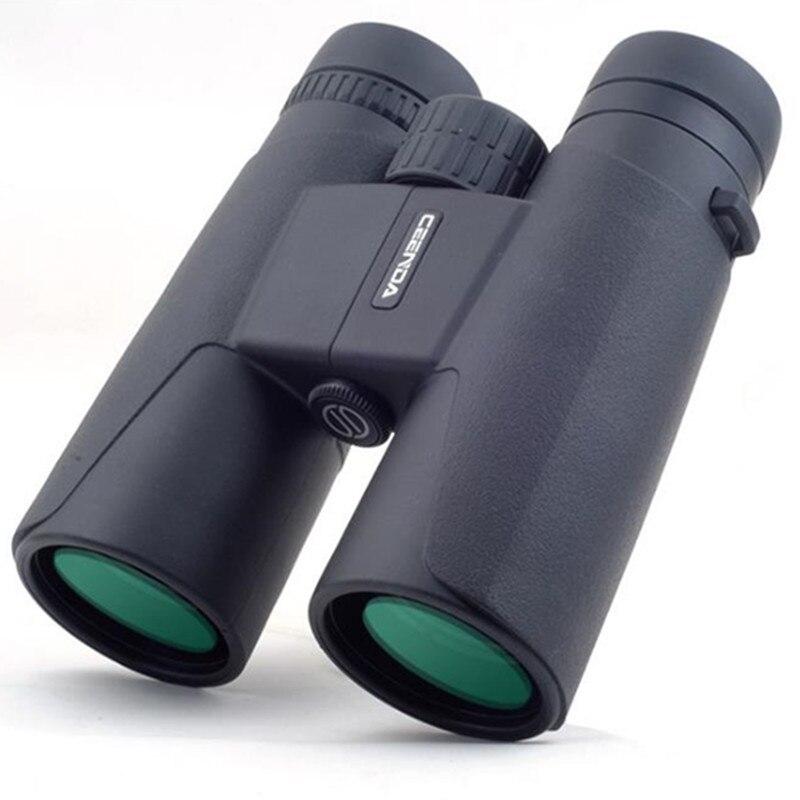 Fernglas 10x42 12x42 Hohe Leistungsstarke BAK4 Prisma Zoom Große Handheld Teleskop lll nachtsicht Military HD professionelle Jagd