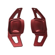 Steering Wheel Decoration Paddle Shift Extension paddle shift fit For VW Golf 7 Wagon Tiguan auto car styling free sticker