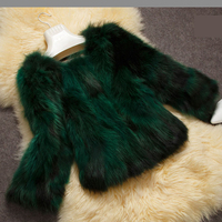 100% natural raccoon dog fur jacket women short design slim fur coat outerwear 2018 new arrival autumn and winter free shipping