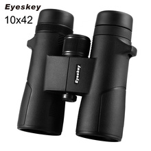 Eyeskey 10X42 High Quality Binoculars Wide Angle BAK4 Prism Fully Multi-Coated Telescope for Outdoor Travel Hunting Sightseeing