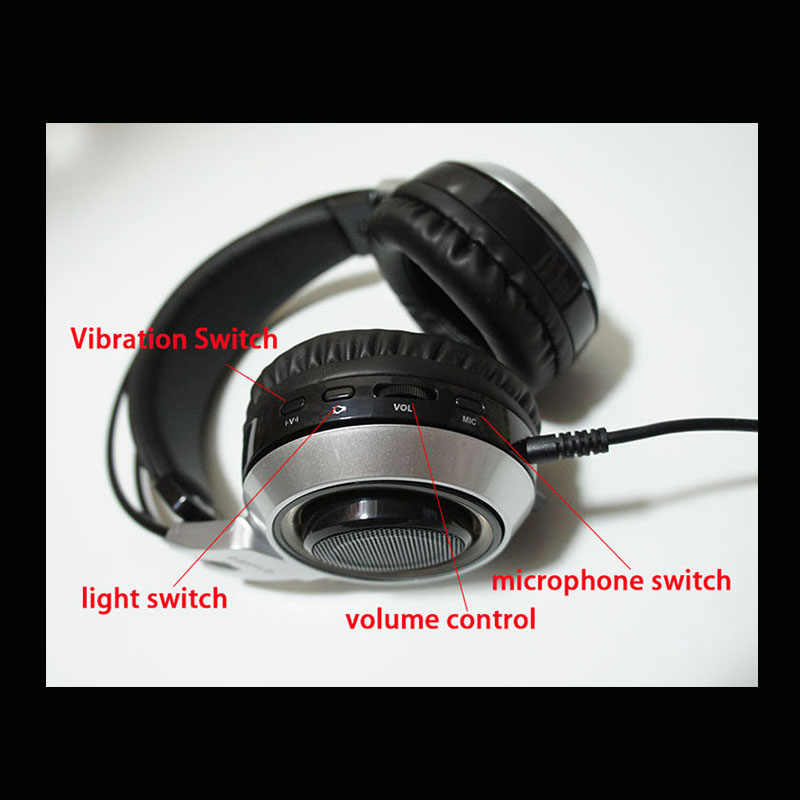 Игровые наушники 7,1 звук вибрации гарнитура USB с микрофоном Микрофон PC бас стерео ноутбук бренд somic G951-7.1