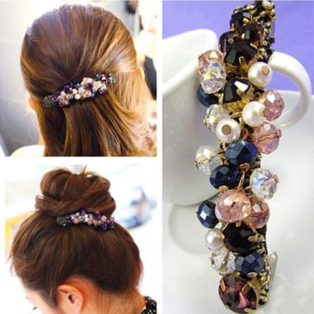 Korea Hairpins Fashion Hair Accessories Hair Clip Bling ...  Real