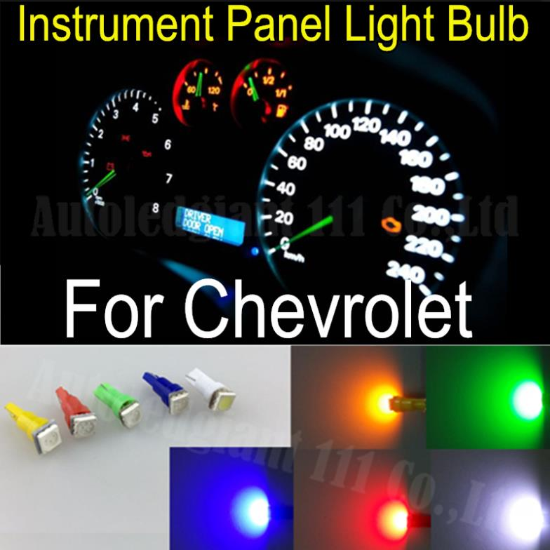T5 Led Light 286 White Red Blue Green Yellow Smd Car Gauge Dash Bulb