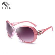 TTLIFE 2019 Vintage Big Frame Sunglasses Women Brand Designer Gradient Lens Driving Sun glasses Pink Oculos De Sol Feminino цена 2017
