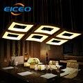 (EICEO) Отель кафе LED люстра гостиная спальня освещение атмосфера креативные треугольные светильники  Подвесная лампа 3 головы 6 головок