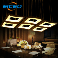 Modern Simple LED Dining Room Chandelier Three Stylish Chandelier Lamp Acrylic Creative Personality Chandelier