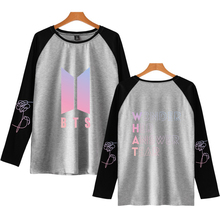 BTS Letters Printed Pullover Sweater [9 Styles]