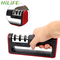 HILFIE Профессиональный 3 этапа точилка для ножей бытовой точильный камень быстрый инструмент для заточки ножей