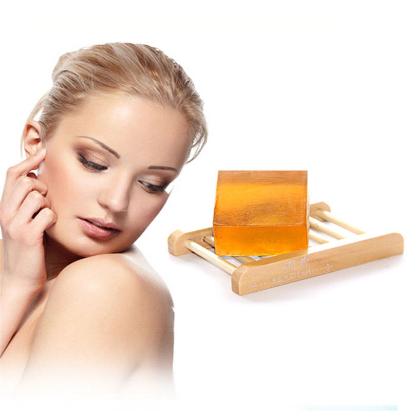 Honey Extract Moisturizing Handmade Soap Deep Cleaning Brighten Skin Tone Face Care Improve The Pores Beauty Health Soap