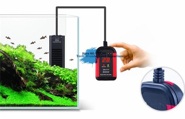 Aquarium High Power Heater 300W 500W 800W 1000W Electronic PTC Heating rod Auto Switch Off Without