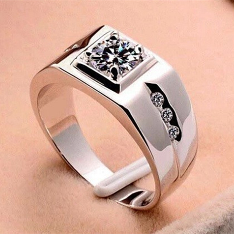Aliexpresscom Buy New Ring for Men Vintage Jewelry Crystal Anel