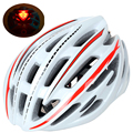 220g Сверхлегкий СВЕТОДИОДНЫЙ дорожный велосипедный шлем MTB велосипедный шлем головной убор для велосипеда 54-59 см шлем Casco Bike Road Mountain 5 цветов