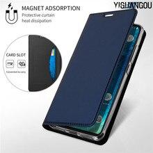 Magnetic Flip Book Case For Xiaomi Mi 9 8 A1 A2 Lite F1 Slim Leather Card Holder Cover For Redmi Note 7 6 Pro 6A S2 5 Plus 4X 4