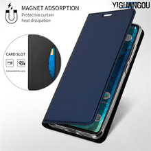 Magnetic Flip Book Case For Xiaomi Mi 9