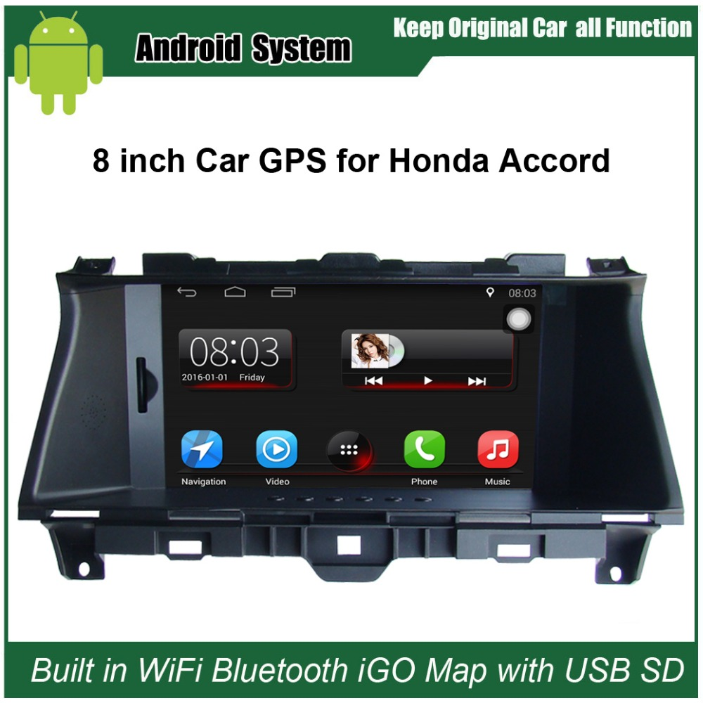8 inch capacitance touch screen car media player for honda. Black Bedroom Furniture Sets. Home Design Ideas
