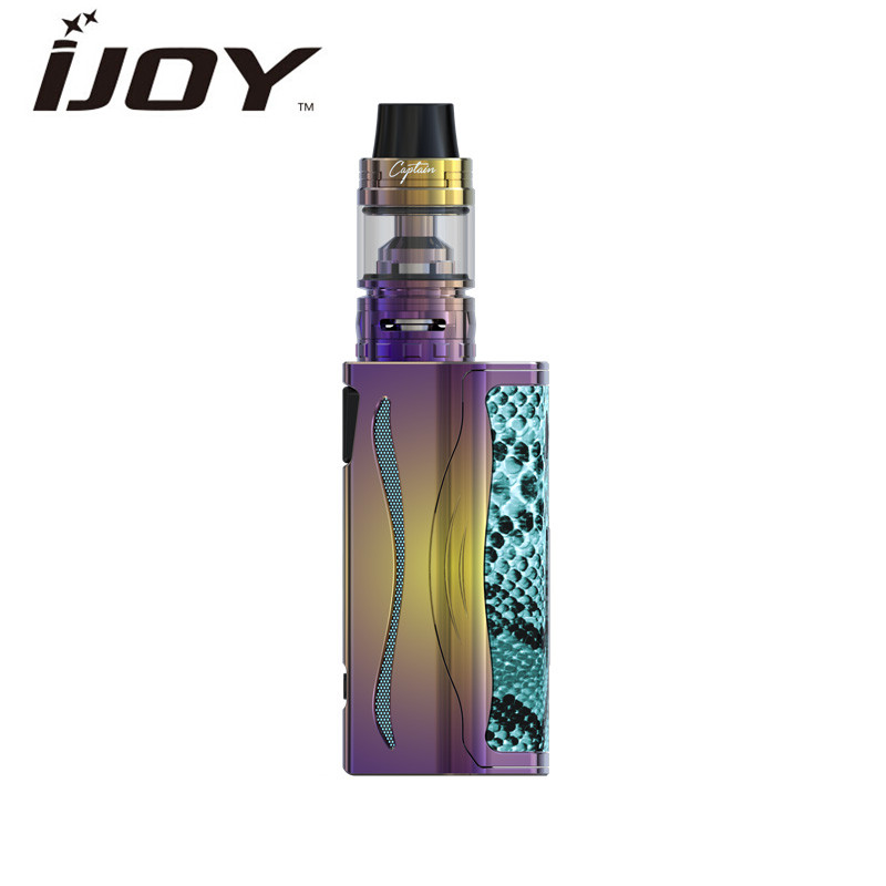 Original IJOY Vape Box Mod Kit Electronic Cigarette Kit Ijoy Genie Pd270 Kit 4 ML Atomizer 20700 BATTERY Built-in VS Mod smoant battlestar 200w tc mod electronic cigarette mods vaporizer e cigarette vape mech box mod for 510 thread atomizer x2093