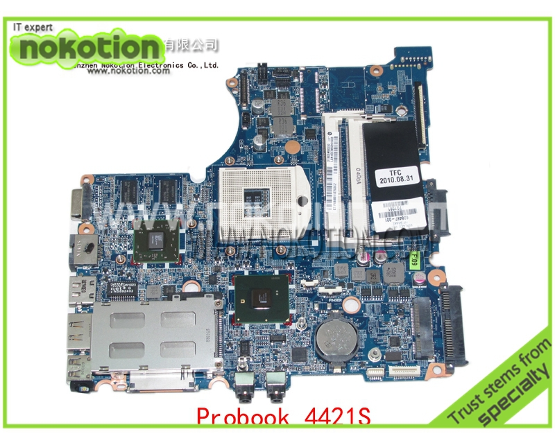 все цены на NOKOTION 628487-001 For HP Compaq probook 4321S 4420S 4421S Mobility Radeon HD 5430 HM57 DDR3 Mainboard онлайн