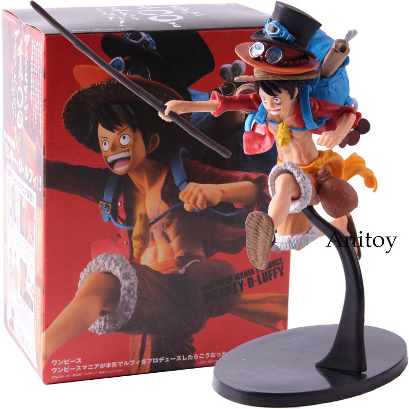 Banpresto One Piece Mania Produce Monkey D Luffy Figure Action PVC Collectible Model Toy
