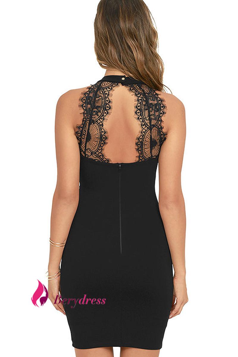 HTB1TzxyRXXXXXcHXFXXq6xXFXXXw - Mini Dress Sexy Nightclub Black Lace Bodycon Dresses PTC 241
