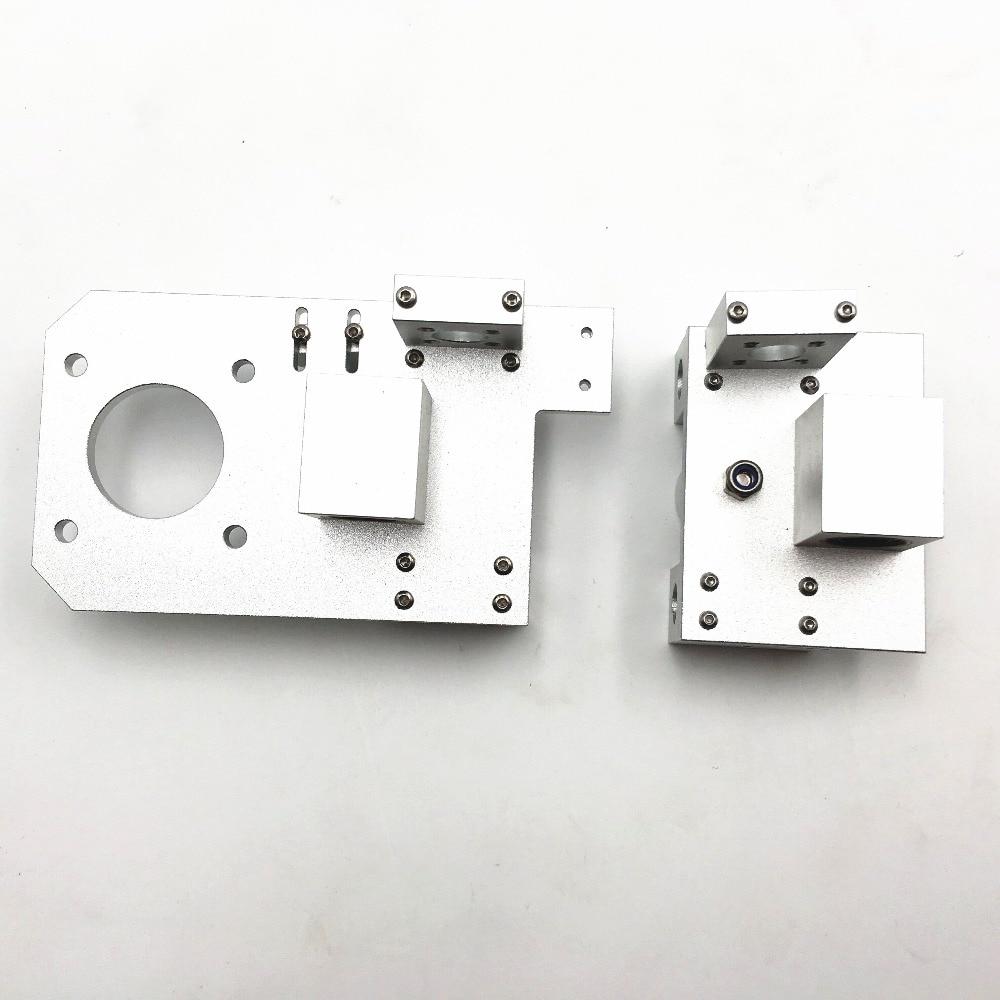 Reprap Prusa i3 tout métal X fin tendeur + X fin moteur pour bricolage Prusa 3D imprimante couleur argent