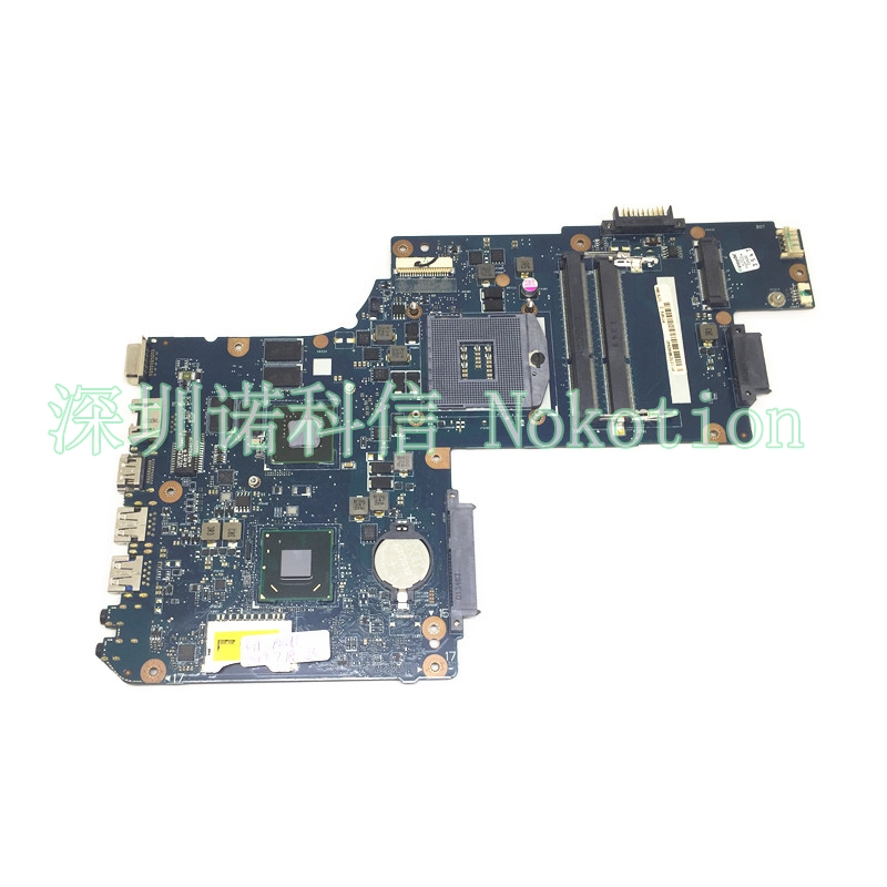 NOKOTION Laptop Motherboard for Toshiba Satellite C50 C55 H000061980 Mainboard SLJE8 with video card works  motherboard for toshiba satellite t130 mainboard a000061400 31bu3mb00b0 bu3 100% tsted good