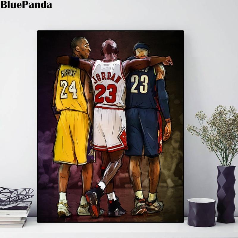 Kobe Bryant Basketball Star Wall Poster 13x20 24x36inch