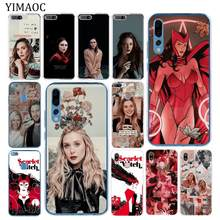 Yimaoc Elizabeth Olsen Scarlet Witch Marvel Soft Case untuk Huawei P30 P20 Pro P10 P9 P8 Lite 2016 2017 P smart Z 2019 Cover(China)
