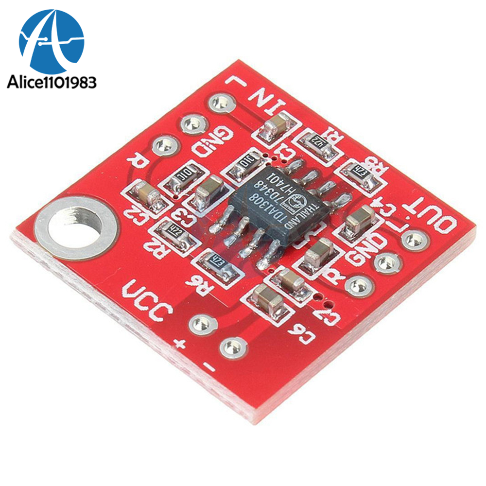 Stereo Tda1308 Headphone Amplifier Board Headset Amp Preamplifier Circuit And Explanation Electronic Circuits Module 3v 6v Cmos Process For