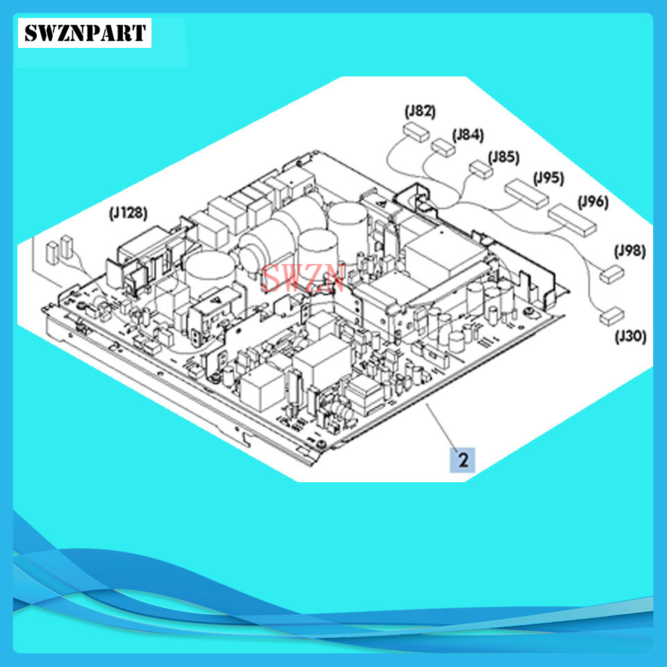 Power Supply Board for HP M604 M605 M606 RM2-6349-020CN RM2-7642 (220V) RM2-7641 (110V)