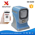 Image 2D Omni-directional Barcode Scanner Desktop Barcode Reader for all 1d and 2d barcodes SM-8200