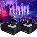 2шт 1500 Вт тумана дым машина Fogger Up DJ вечерние пульт дистанционного управления DMX контроллер 220 В сценическое освещение
