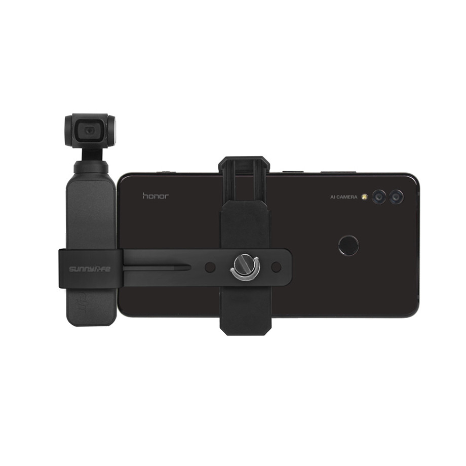 OSMO Pocket Smartphone Fixing Bracket Stand Clamp Extending Rod Tripod for DJI OSMO POCKET Gimbal Accessories 36