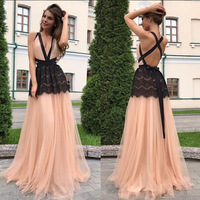 BKLD 2018 New Fashion Women Dress Sexy V Neck Backless Sleeveless Maxi Long Dress Summer Beach Party Night Club Long Dress