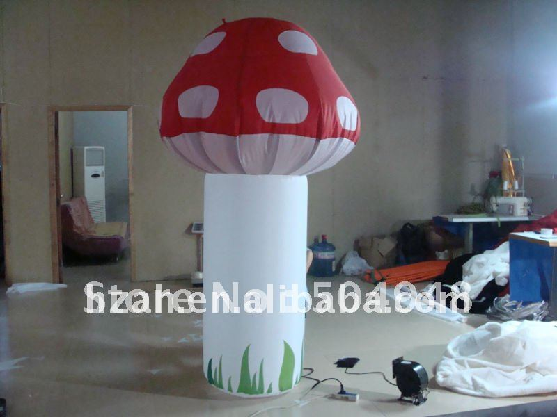 inflatable model lighting mushrooms for party decoration inflatable lighting star for party decoration
