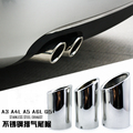 Exhaust Muffler Tip End Pipe Stainless Steel For 2012 2013 2014 2015 Volkswagon VW jetta MK6 1.4t 2.0tdi golf 6 golf 7 MK7