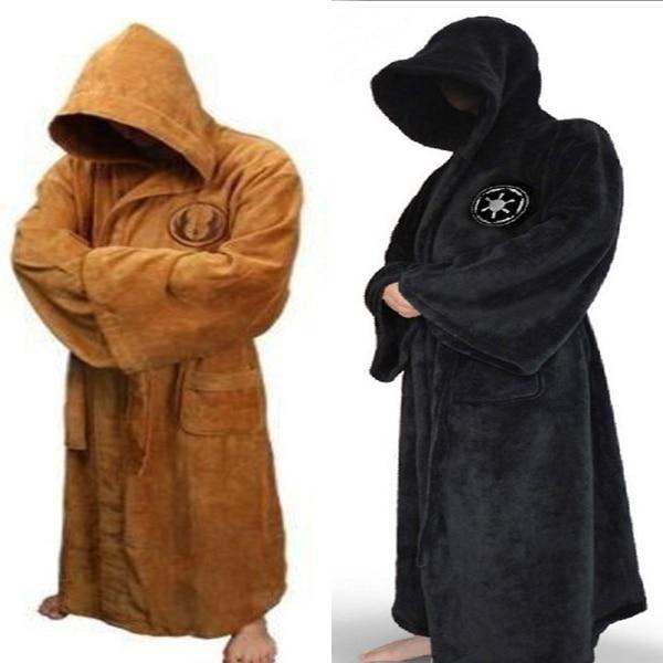 Star Wars Jedi Bath Robe Knight Bath Adult Albornoz Carnival Cosplay ...